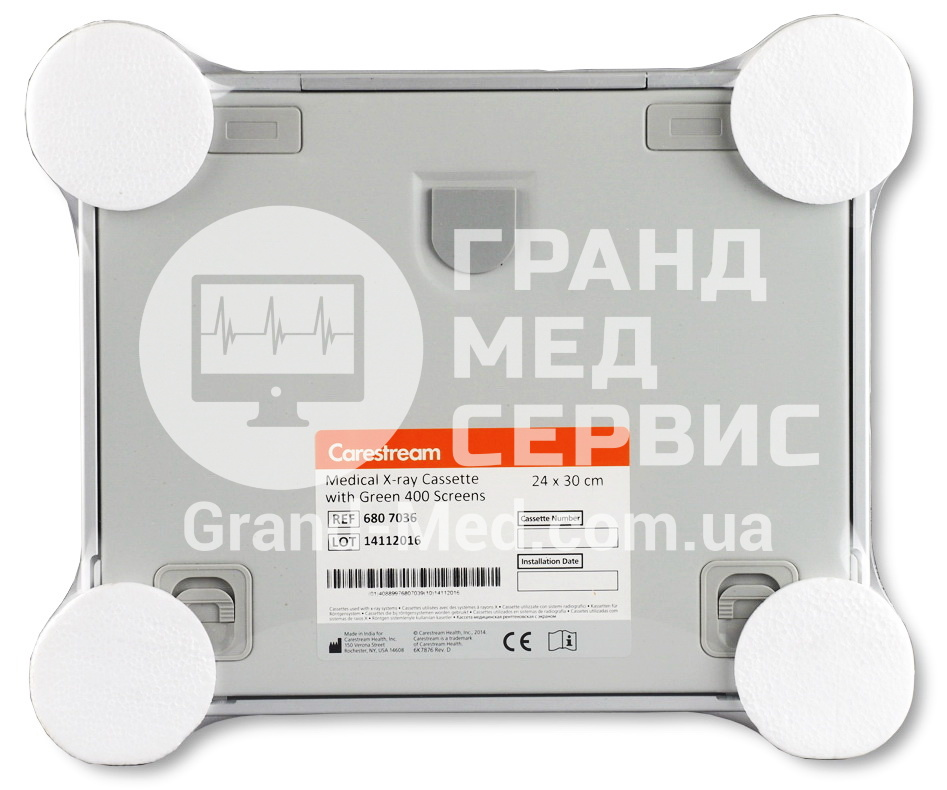 Рентгеновская кассета Carestream Health (Kodak) с экраном Green 400 24x30 см