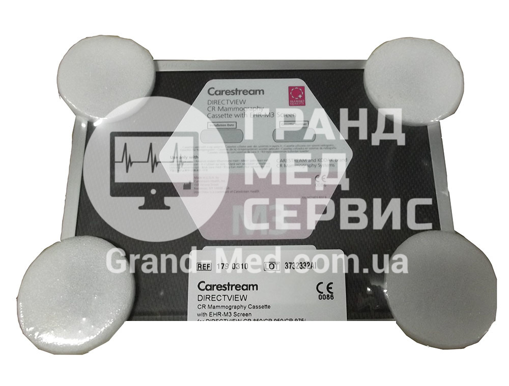 Кассета для CR mammography Carestream Health (Kodak) с EHR-M3 экраном 18х24см