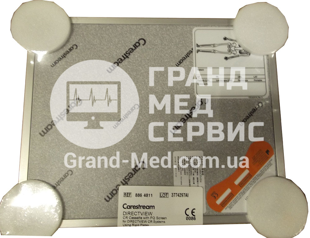 Кассета для CR Carestream Health (Kodak) с PQ Жестким экраном 24х30см
