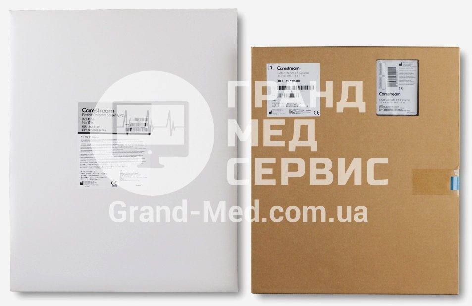 Кассета для CR Carestream Health (Kodak) GP с экраном GP-2 35x43 см (14x17″)