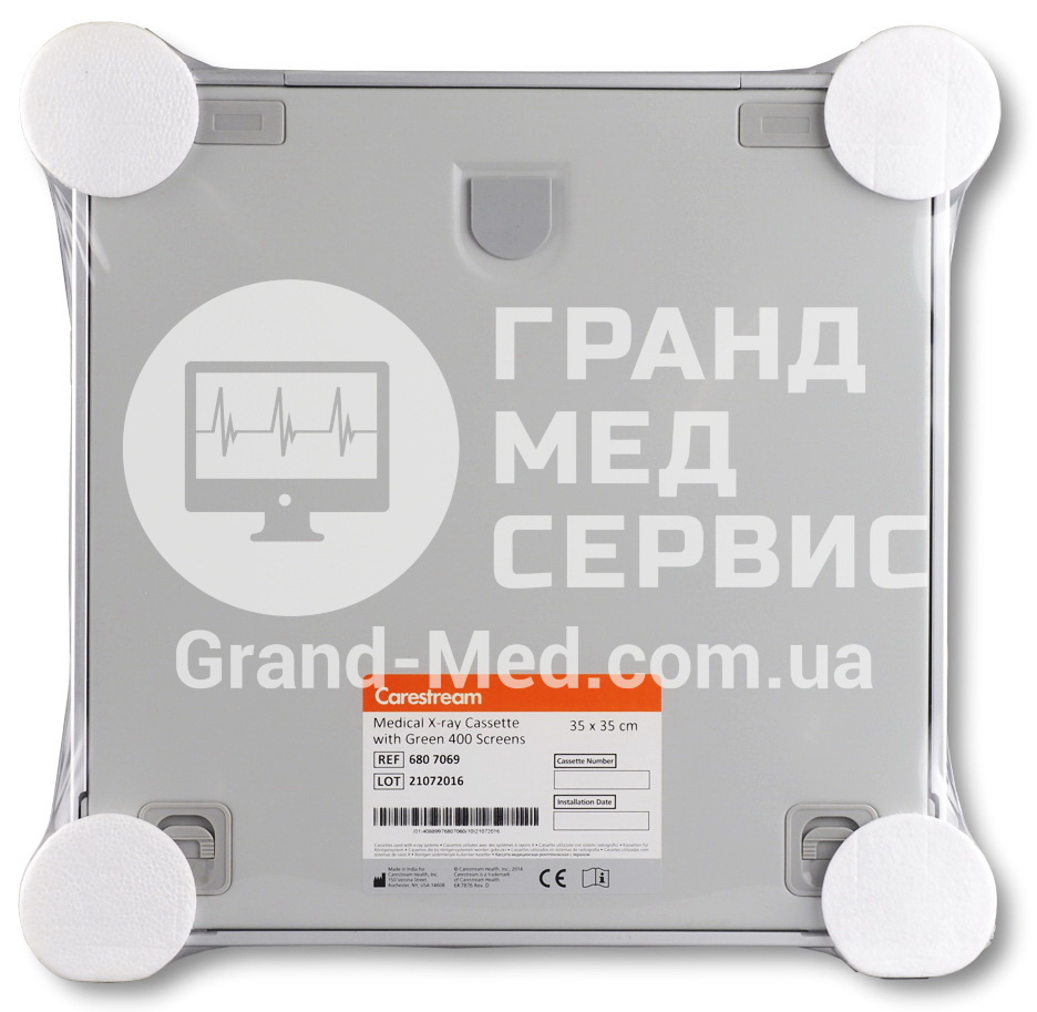 Рентгеновская кассета Carestream Health (Kodak) с экраном Green 400 35x35 см